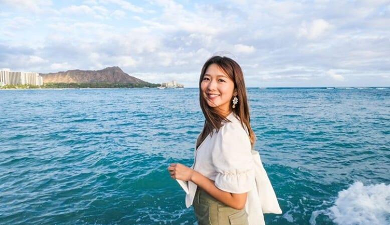 【ハワイ美女】大好きなハワイに住むために留学を決意!ハワイ在住の「Minamiさん」