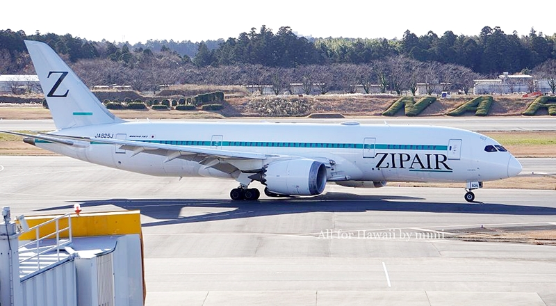 【7月26日現在】「ZIPAIR/ジップエアー」が10月から増便に!機内販売に「白い恋人」が登場♪
