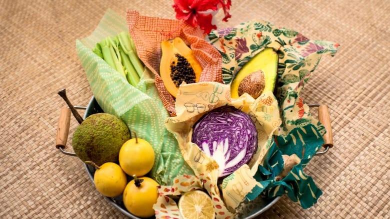 体にも自然にも優しい!メイドインハワイのフードラップ、Bee's Cotton Wrap