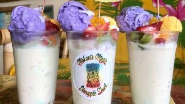 ハワイ島で数多くの賞を受賞した話題のお店「マカニズ・マジック・パイナップル・シャック/Makani's Magic Pineapple Shack」をご紹介