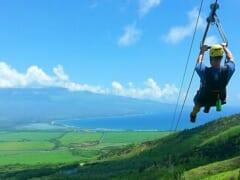 マウイ島を駆け抜ける爽快感!マウイ島の絶景を堪能できる最も長いジップラインをご紹介