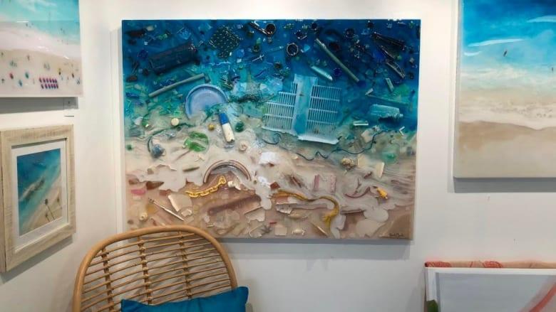 大人気の気鋭アーティストSarah Caudleが描く、環境問題をテーマにしたアート「Save Our Seas」
