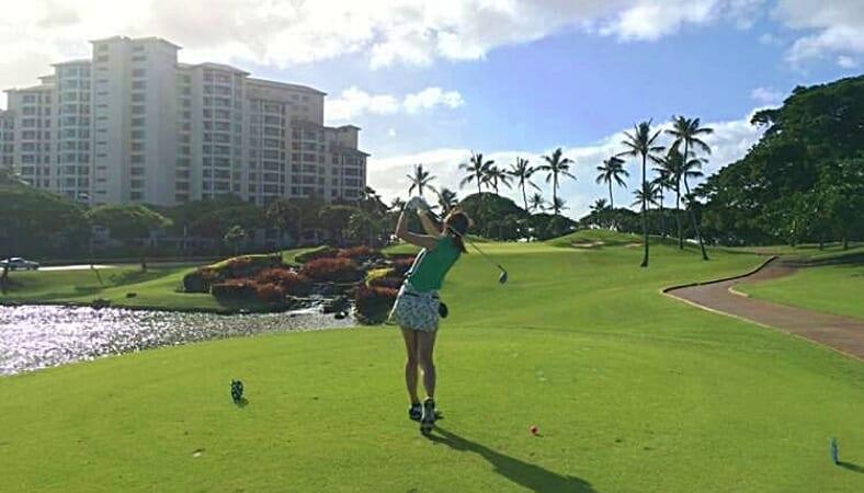 【ハワイ美女】ゴルフ好き女子「Caeさん」の目線で過ごすハワイ旅