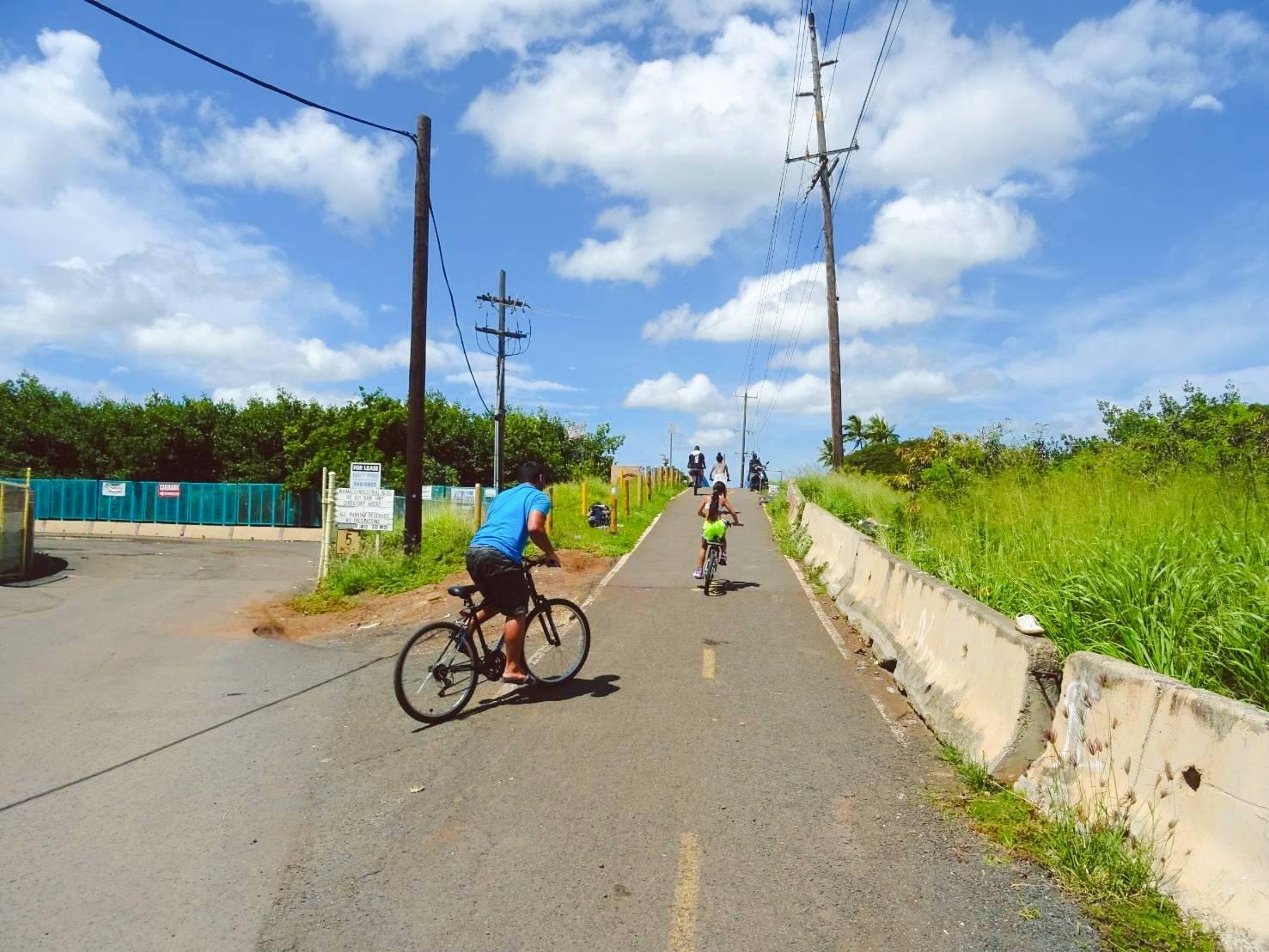 10家族でサイクリング