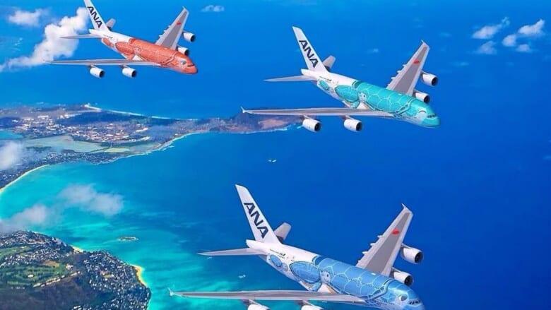 「日本 ー ハワイ」の最新運航情報