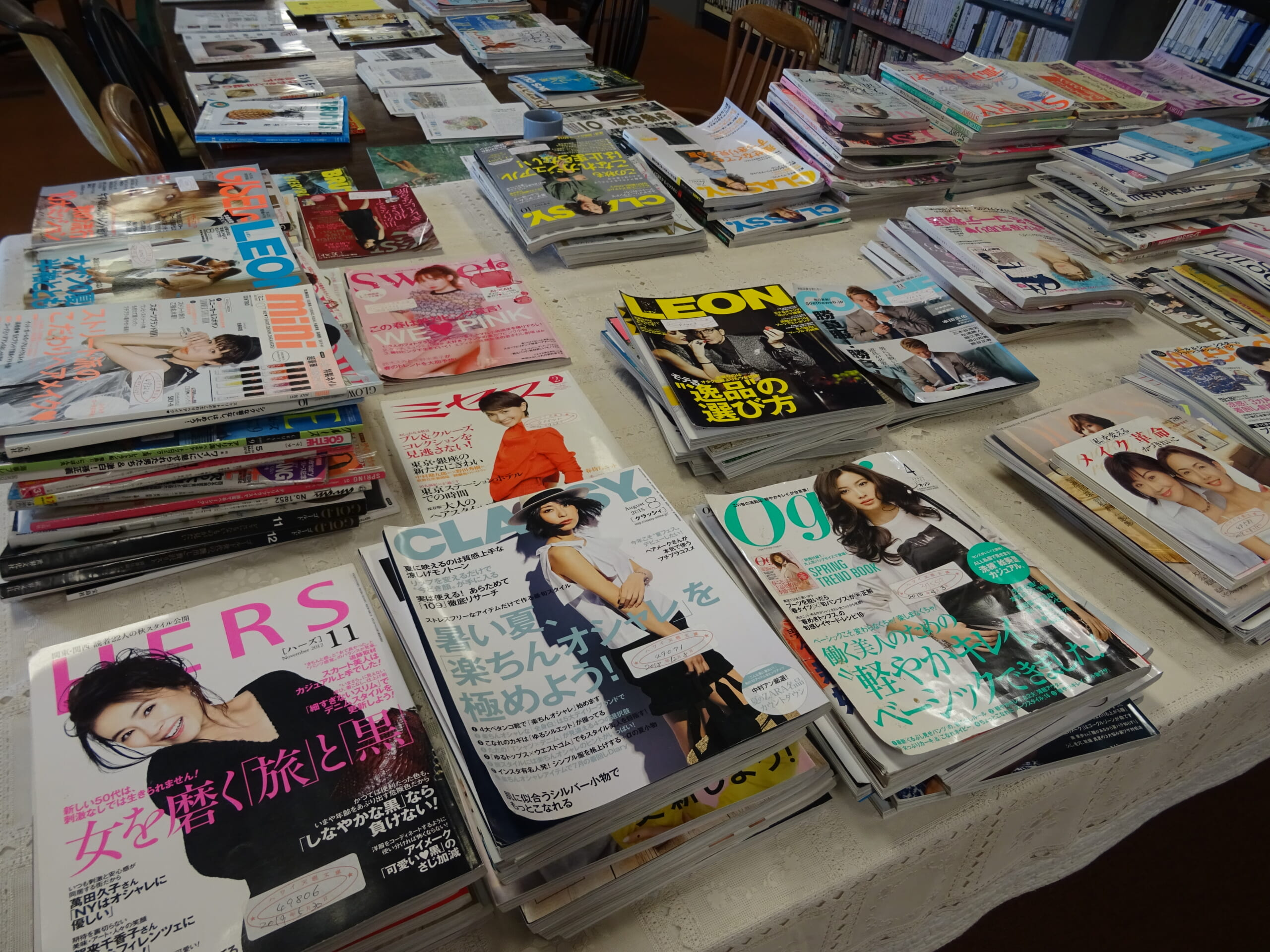 6ファッション雑誌