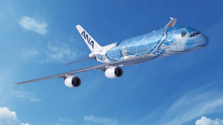 ANA、8月の成田=ホノルル線をA380型機「FLYING HONU (フライング ホヌ) 」で運航