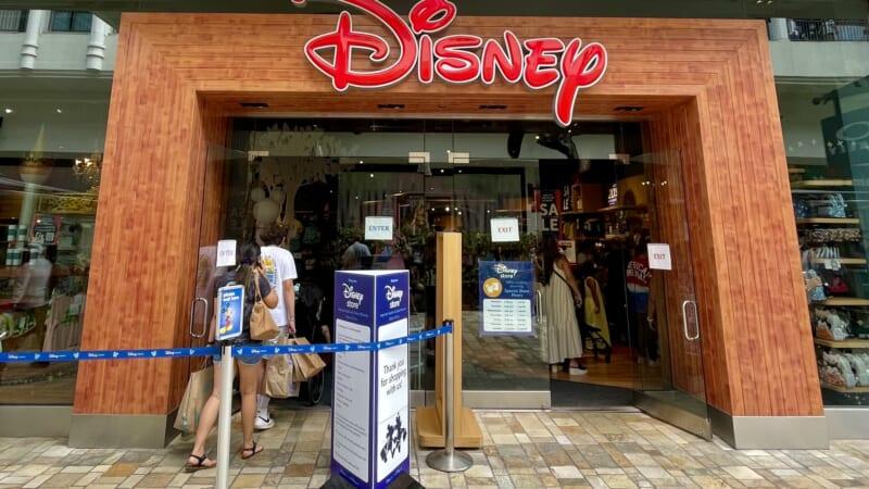 ハワイ唯一のディズニーストア、 アラモアナ・センター店が7月に閉店