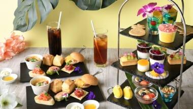 【期間限定】「新宿プリンスホテル」の最上階レストランで「ハワイアンアフタヌーンティー」はいかが?