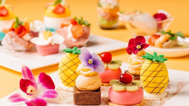「新横浜プリンスホテル」でハワイのアフタヌーンティーはいかが? 眺め最高の景色も楽しめる「Hawaiian Fair 2021」を開催