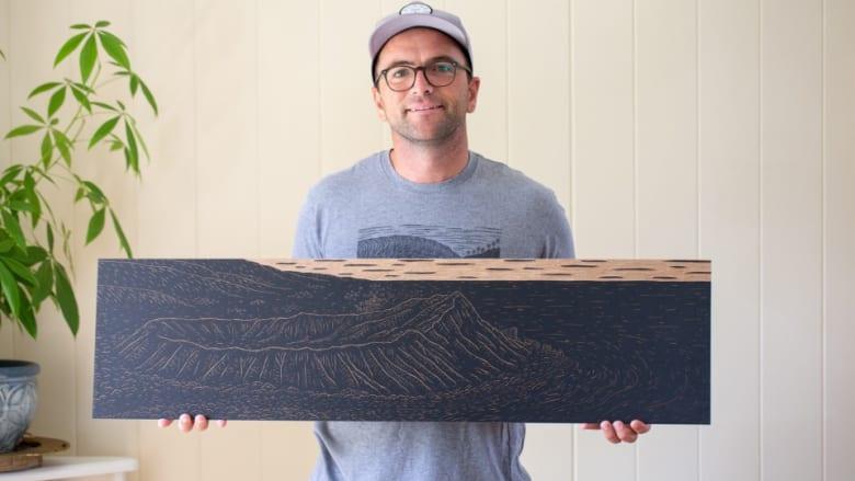 ハワイの自然やカルチャーを木版画で表現する異色アーティスト、Steven Kean