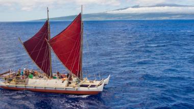 伝統航海カヌー「ホクレア」情報サイトを公開!