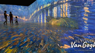 没入体験型展覧会「ビヨンド・ファン・ゴッホ:イマーシブ・エクスペリエンス」、好評につき2021年9月26日まで会期を延長!