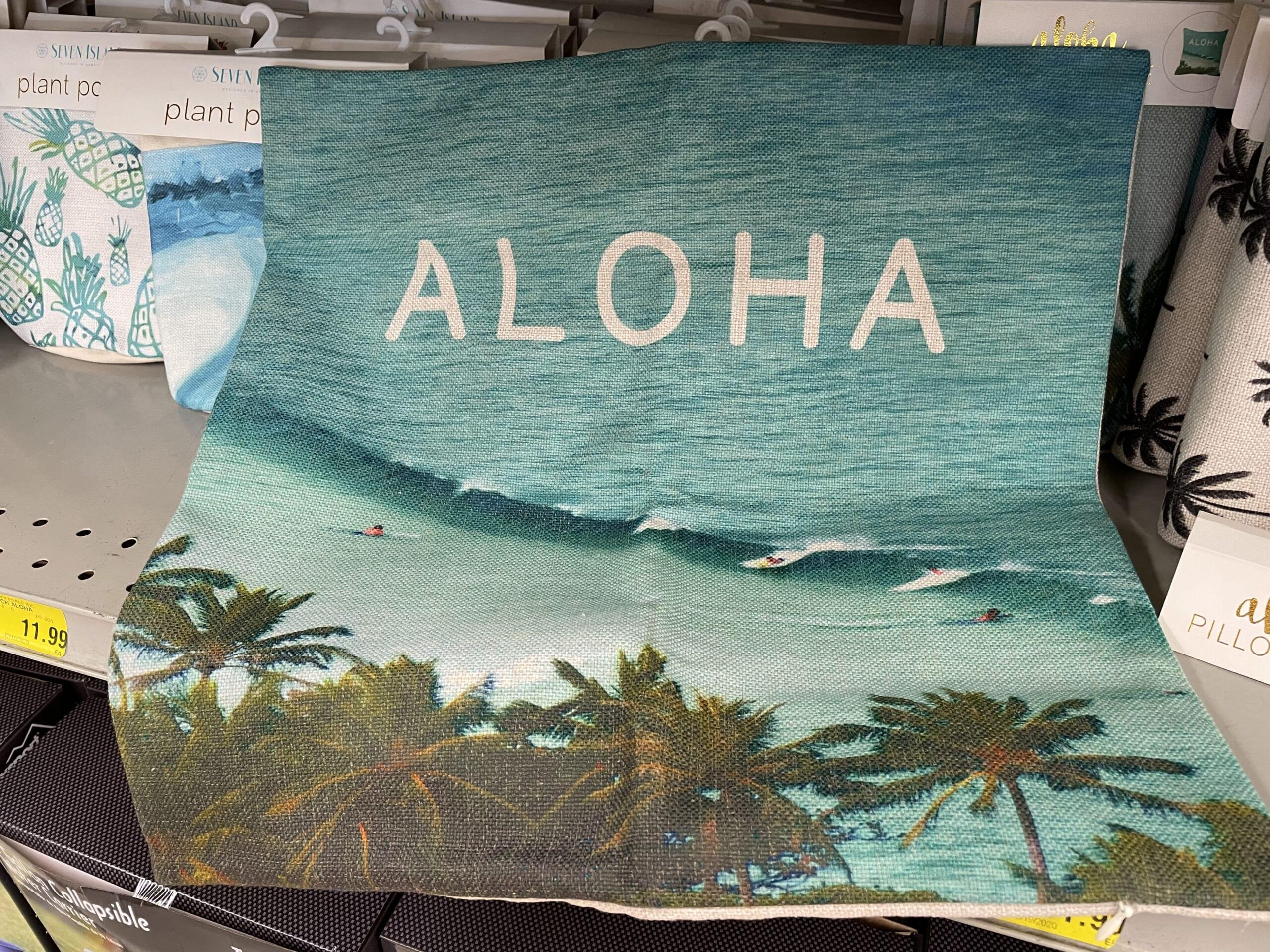 alohaのデザイン