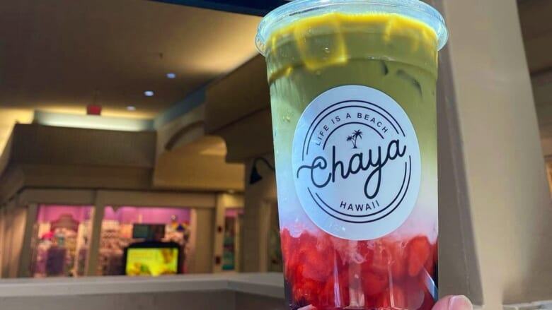 カハラモールでほっと一息!新店舗「CHAYA HAWAII」の抹茶タピオカドリンクの気になるお味は?