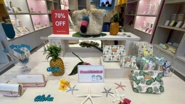 アラモアナセンター内の「サマンサタバサ」がハワイから撤退!閉店セールも開始