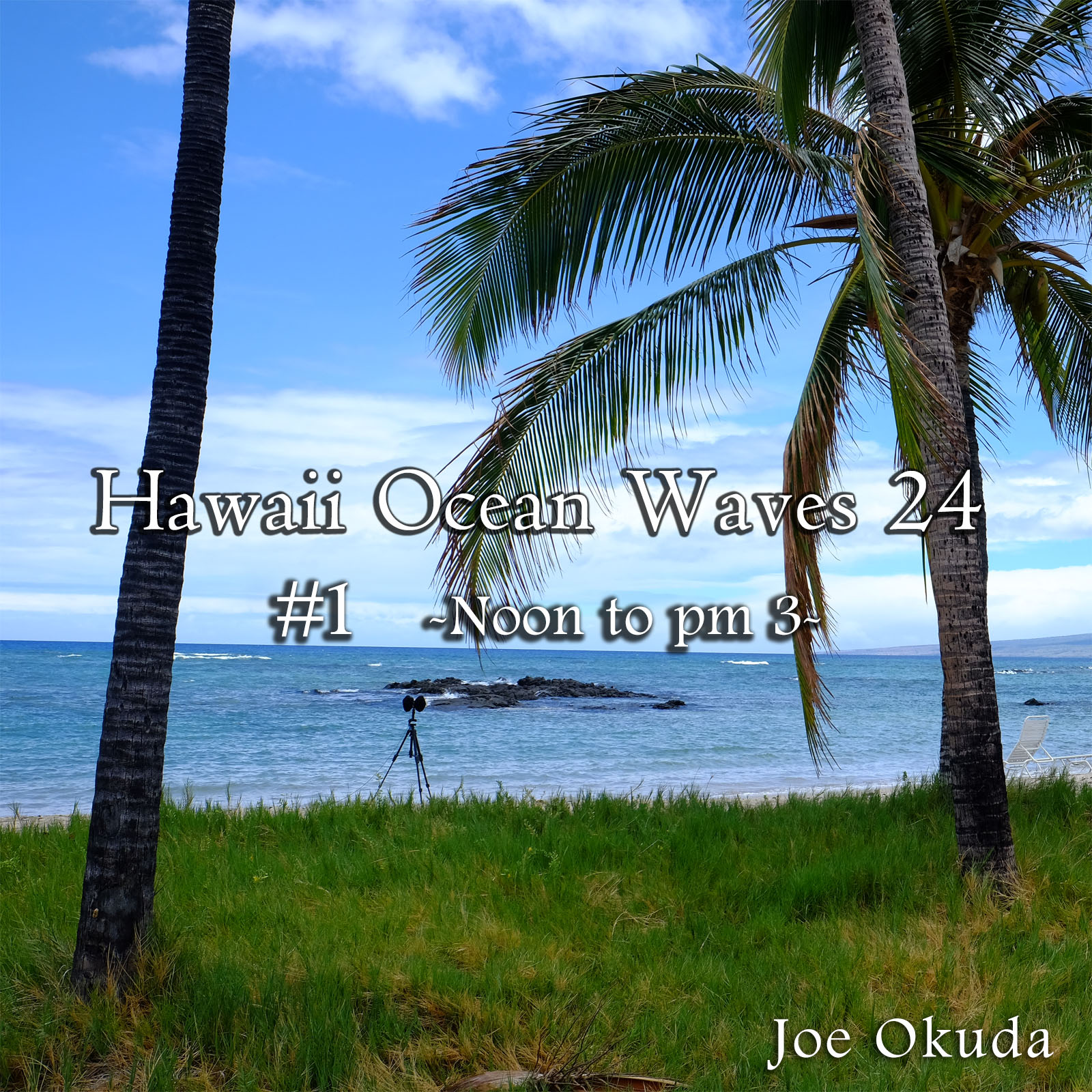 Hawaii Ocean Waves 24 #1 -Noon to 03 pm- ('Normalize Volume' flag OFF Recommended)