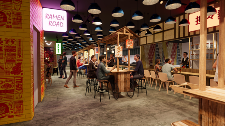 ワイキキショッピングプラザとアラモアナセンターに新しいスタイルのフードホール「STIX」がオープン予定