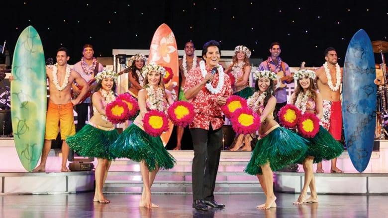 ロイヤル・ハワイアン・シアターのロック・ア・フラが週3回公演を再開